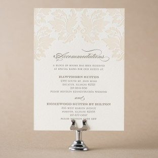 Hotel Information For Wedding Invitations is perfect invitations design