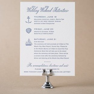Letterpress wedding events cards for wedding invitations traditional palm events card bella figura stopboris Images