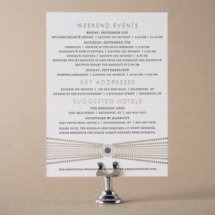 Bejeweled Events card | Bella Figura