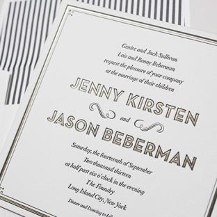 True Vintage wedding invitations