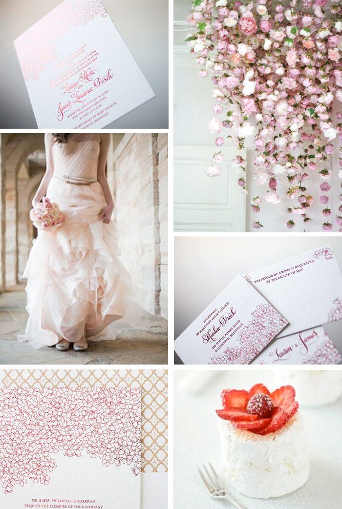 Elegant floral wedding inspiration for Cascade