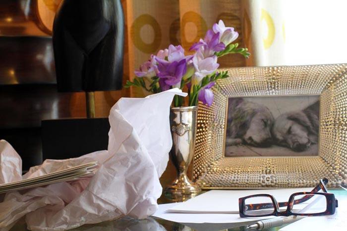 Take a peek inside the studio of Bella Figura calligrapher Kelle McCarter