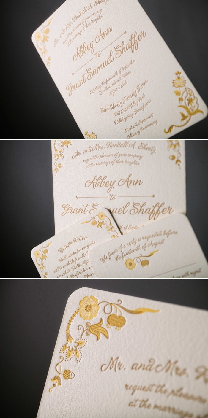 Indian Summer wedding invitations