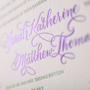 Celeste wedding invitations