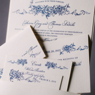 Conservatory wedding invitations