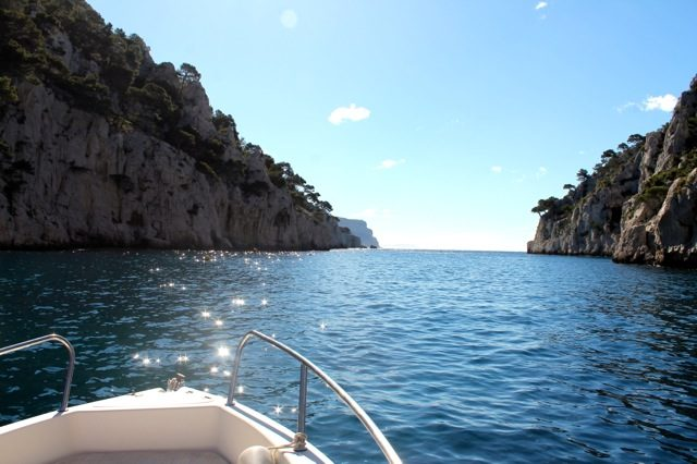 Sarah Hanna Travels - morning boat rides on the French Riviera