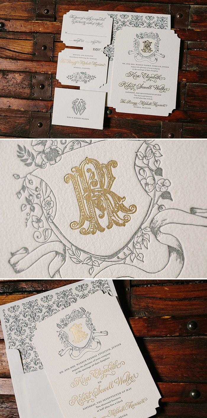 Laurent wedding invitations