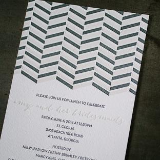 sweet lorna invitations from Bella Figura