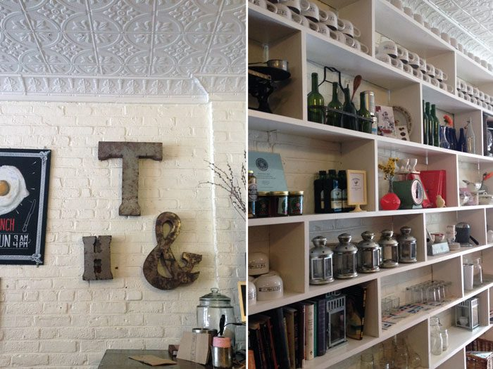 Ted & Honey Cafe | Carroll Gardens, Brooklyn tour with Swiss Cottage Designs