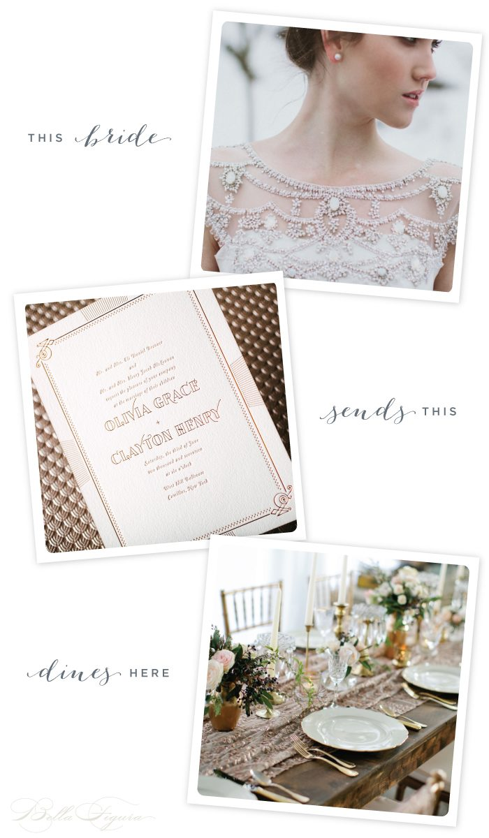 This Bride: Divine Deco inspiration featuring Pemberley by Ellie Snow for Bella Figura