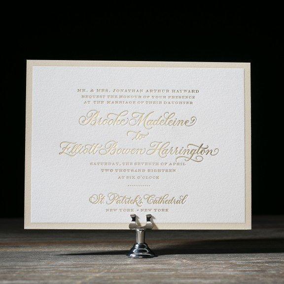 Formal + Vintage Wedding Invitations