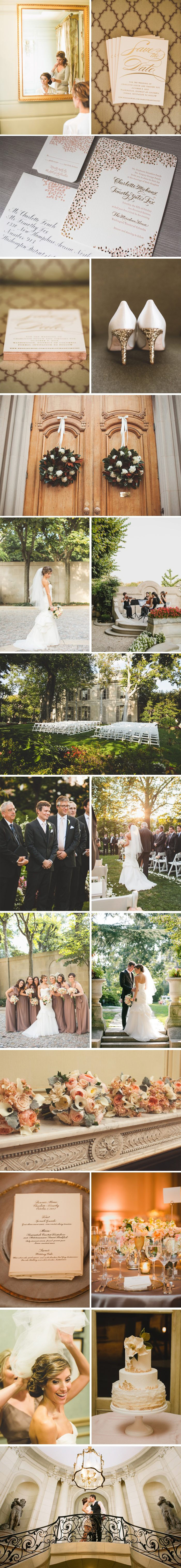 Real Bella Figura Wedding at the Meridian House