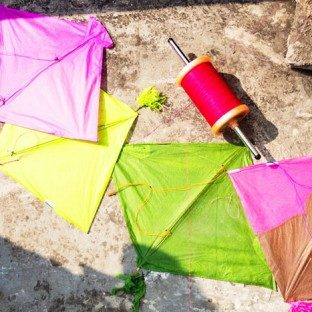 Kites from Gujarat for the Uttarayan International Kite Festival