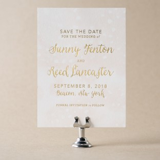 Astoria Save the Date design