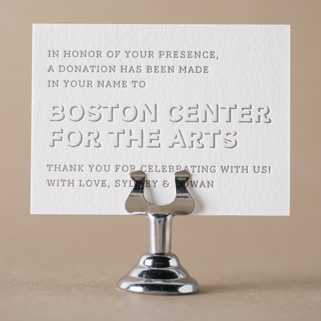 Get Free Letterpress Wedding Favor Cards From Bella Figura