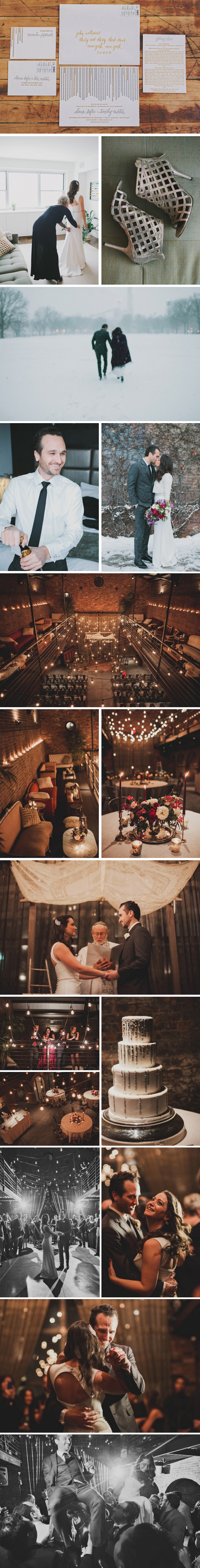 Real Bella Figura Wedding at The Foundry in Long Island City