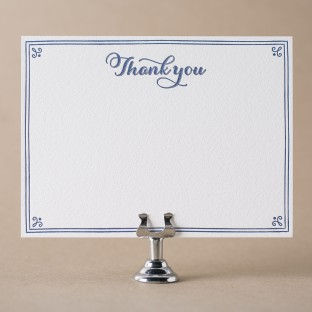 Letterpress Wedding Thank You Notes Amp Social Stationery