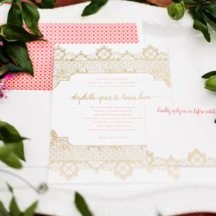 Ursula wedding invitations