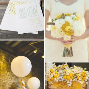 Studio wedding invitation inspiration from Lindsy Talarico
