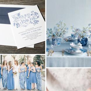 Wildflower wedding invitation inspiration