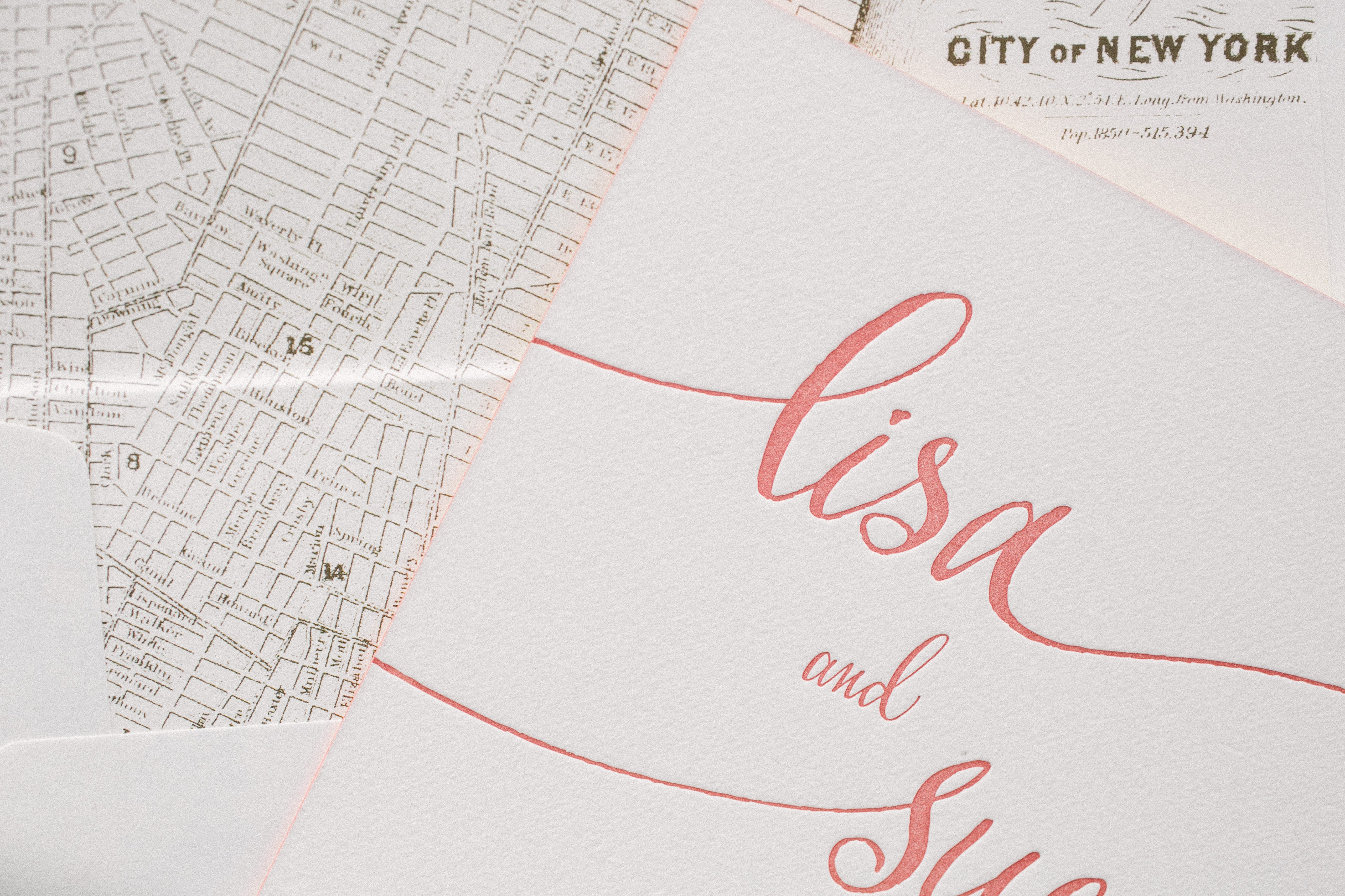 Colette calligraphy wedding invitations bella figura