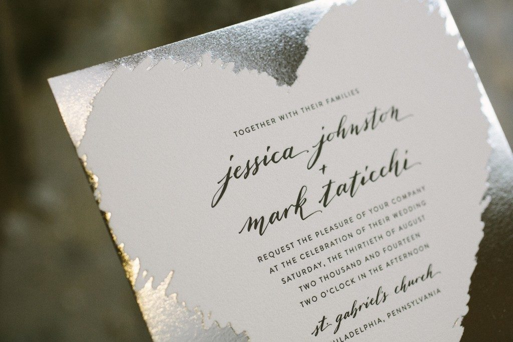 Urbanic wedding invitations | Bella Figura