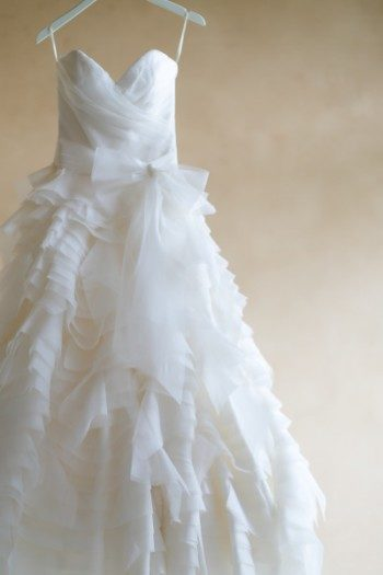 Sareh Nouri wedding gown