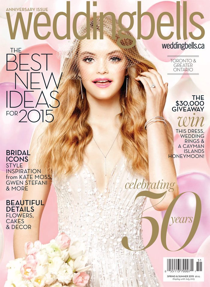 Wedding Bells Magazine Spring/Summer 2015 Issue