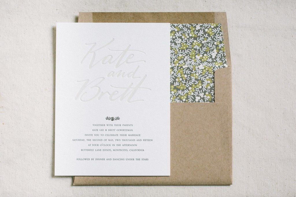 custom wedding invitations | Bella Figura