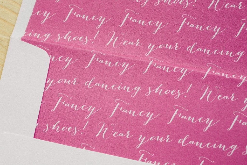 Fun + fancy foil and letterpress birthday invitations | Bella Figura