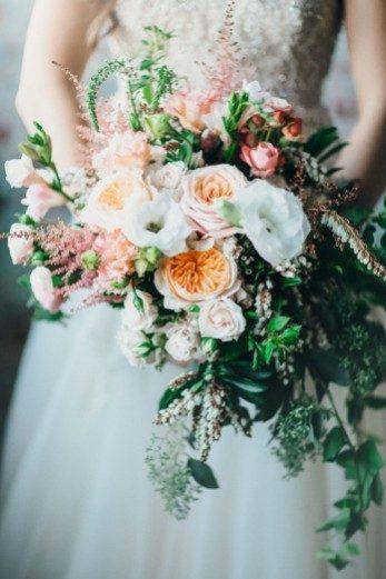 Real Bella Figura wedding - bridal bouquet