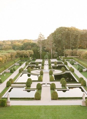 The grounds at Oheka Castle