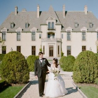 Real Bella Figura wedding at Oheka Castle