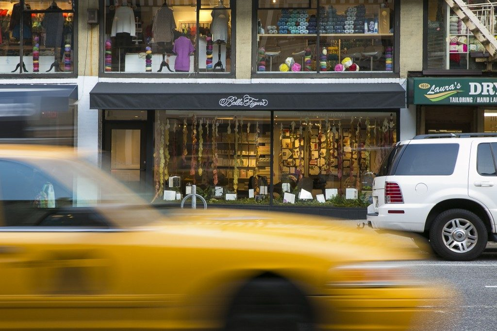 The Bella Figura flagship store in Manhattan