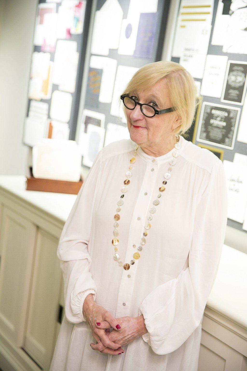 Bella Figura's flagship store manager, Linda Hays