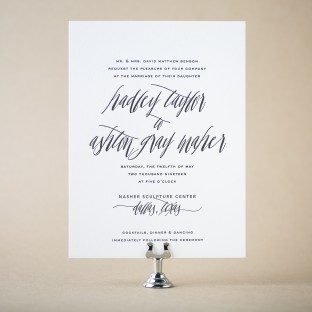 shop over 300 foil + letterpress wedding invitations from bella figura, Wedding invitations