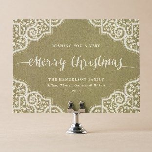 Mumbai Scrolls custom holiday cards