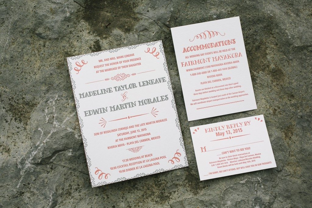 Bilingual Wedding Invitations | Bella Figura