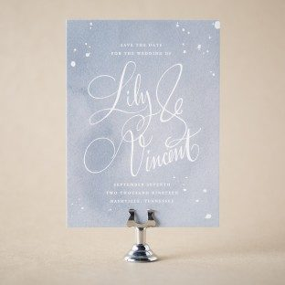 Vincent save the dates from Bella Figura