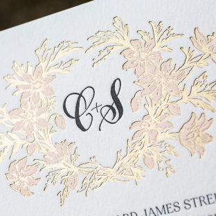 Hand Calligraphy Wedding Invitations Bella Figura