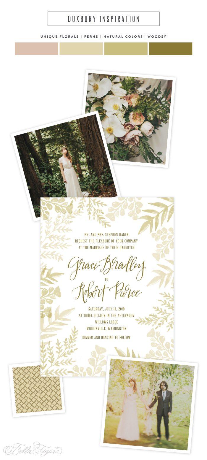 Woodsy wedding inspiration