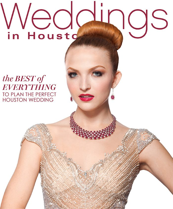 Weddings in Houston magazine winter 2015-2016