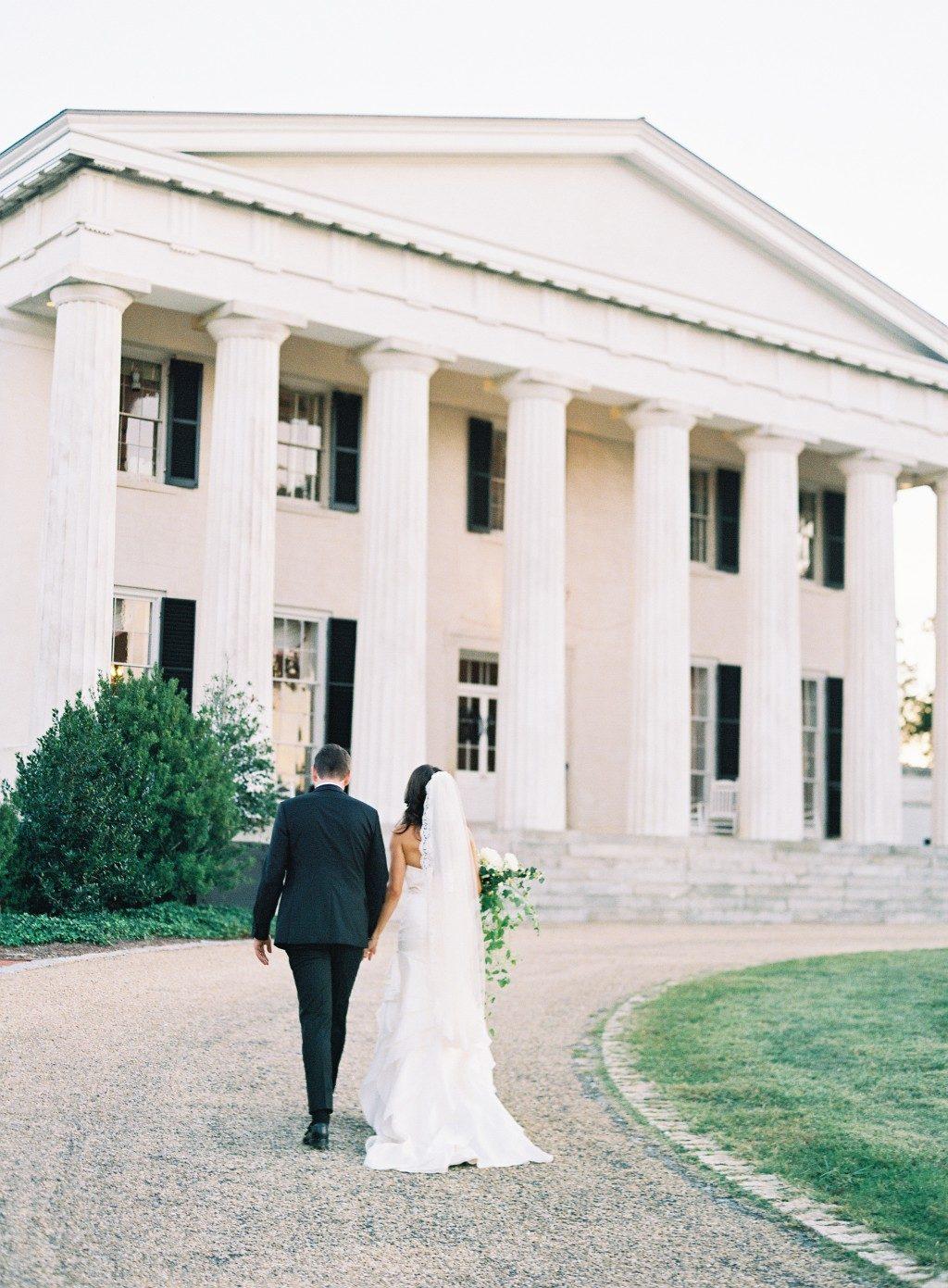 Classic Bella Figura wedding at Berry Hill Resort in South Boston, Virginia