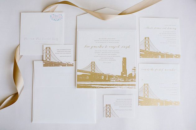 Charmed San Francisco winter wedding by Bella Figura