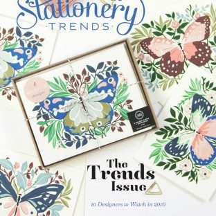 Bella Figura featured in Stationery Trends magazine