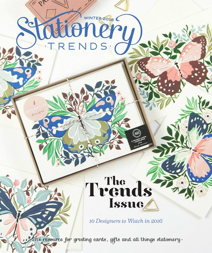 Stationery Trends winter 2016 cover