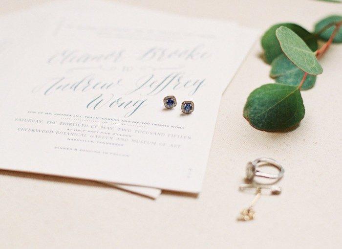 Serendipity wedding invitations from Bella Figura