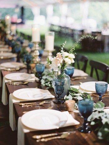 Wedding reception at the Cheekwood Botanical Garden