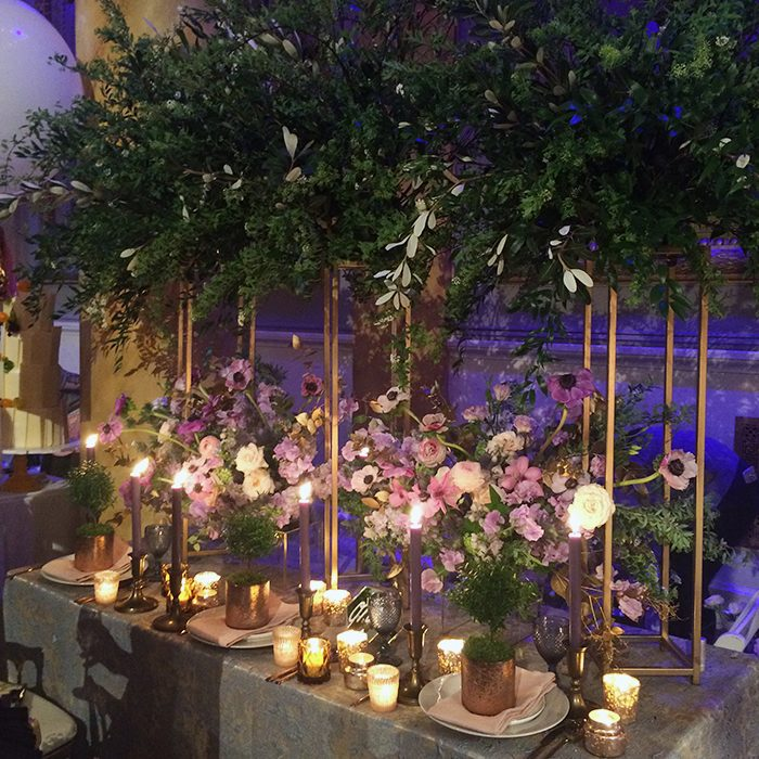 New York Weddings Event 2016 - Designs by Ahn event display