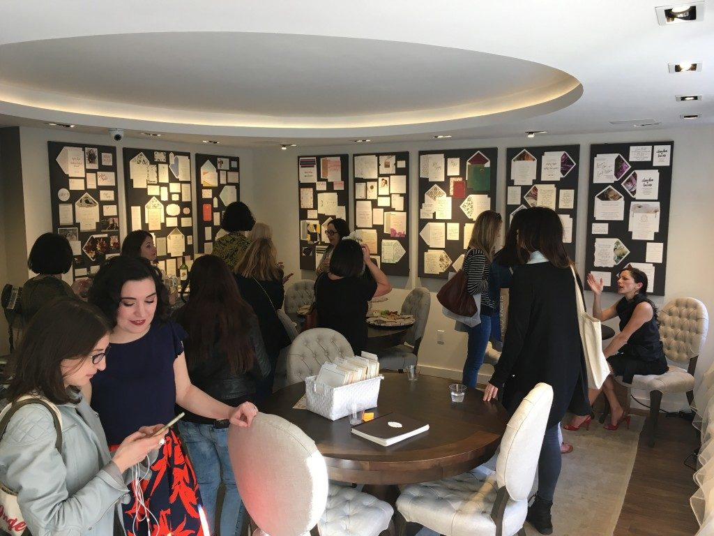 A special event for retailers at the Bella Figura flagship store